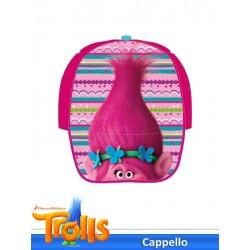 CAPPELLO C/VISIERA STAMPATA TROLLS