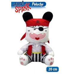 PELUCHES HELLO SPENK PIRATA 20CM