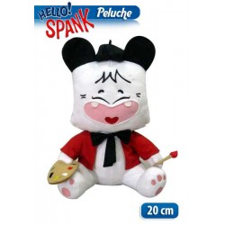 PELUCHES HELLO SPENK PITTORE 20CM