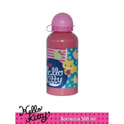 BORRACCIA ALLUMINIO 500 ML HELLO KITTY