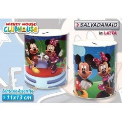 SALVADANAIO 11X13 MICKEY CLUB HOUSE