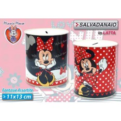 SALVADANAIO 11X13 MINNIE