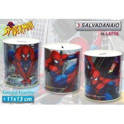 SALVADANAIO 11X13 SPIDER MAN
