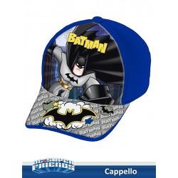 CAPPELLO C/VISIERA STAMPATA BATMAN