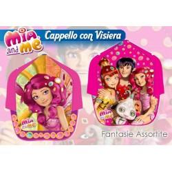 CAPPELLO C/VISIERA STAMPATA MIA AND ME