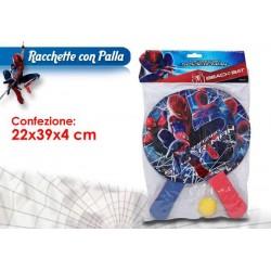 SET RACCHETTE C/PALLA SPIDERMAN