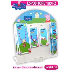 EXPO BIJOUX 180 PZ PEPPA PIG