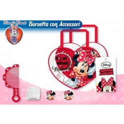 BORSA ACCESSORI CAPELLI MINNIE