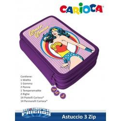 ASTUCCIO 3 ZIP CARIOCA
