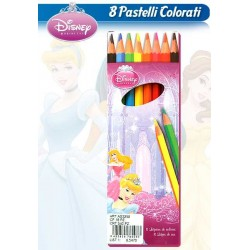 COLORI MATITA 8 PZ. PRINCESS     NS