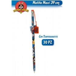 MATITA C/TEMP GIGANTE LOONEY TUNES 39 cm