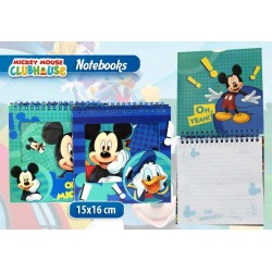 NOTEBOOK CON ANELLI MICKEY IN DISPLAY