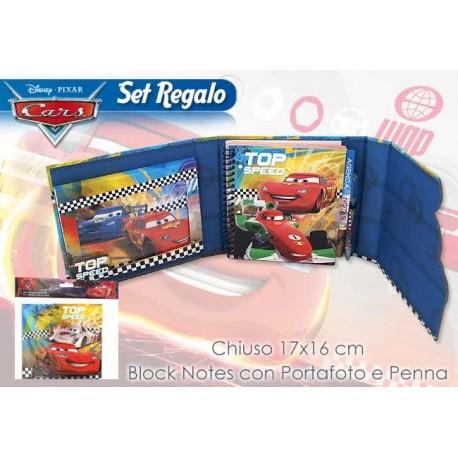BLOCK NOTES C/PORTA FOTO CARS