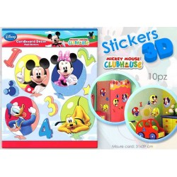 CARD STICKER 3D MICKEY  30X30       NS