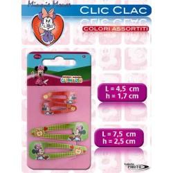 """CLIC CLAC MINNIE 2 COPPIE 4""""7""""     NS"""
