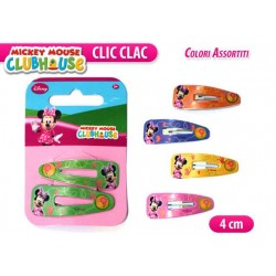 """CLIC CLAC MINNIE 1 COPPIA 4""""       NS"""