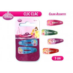 "CLIC CLAC PRINCESS 1 COPPIA 3""     NS"