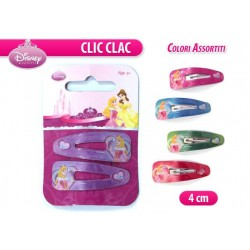"CLIC CLAC PRINCESS 1 COPPIA 4""    NS"