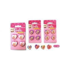 MINI PINZE 4 PZ. BARBIE CUORE
