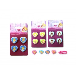 MINI PINZE 4 PZ. PRINCESS CUORE   NS