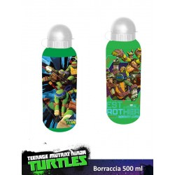 BORRACCIA ALLUMINIO 500 ML TURTLES