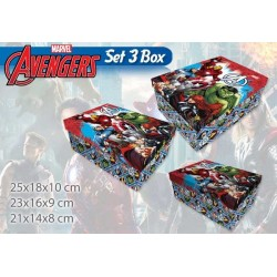 BOX 3 PZ MATRIOSKA AVENGERS