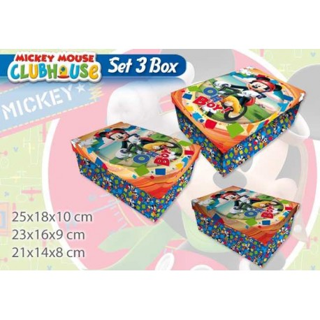 BOX 3 PZ MATRIOSKA MICKEY