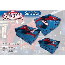 BOX 3 PZ MATRIOSKA SPIDERMAN
