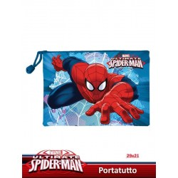 PORTATUTTO 30*21 SPIDERMAN